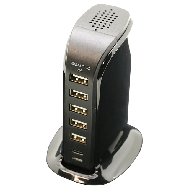 DESKTOP AC USB×5/Type-C×1 8A